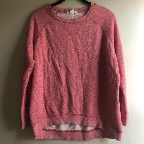 Forever 21 Tops - Marled red sweatshirt
